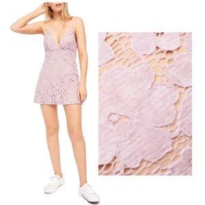 NWOT - Dangerous Love Lace Mini Dress